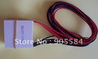 2013 2pc/LOT  TEC1-12715 15.4V 15A  136.8W 40*40MM Thermoelectric Cooler Peltier Plate