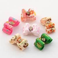 Handmade Accessories Pets Colorful Ribbon Bow #db1002 Bows Dog Dog Grooming Equipment