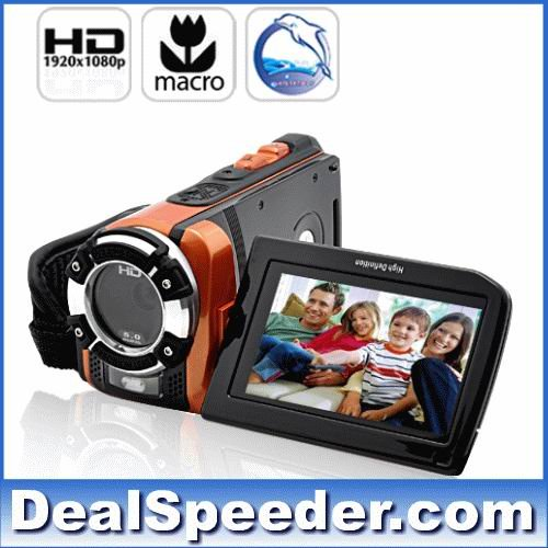 C-Shock HD Sport Camcorder Digital Video Camera (1080p, Waterproof, Macro Function)(China (Mainland))