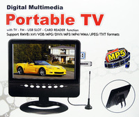 LCD TV 9.5 inch with MP3, MP4 Player