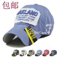 Mix Order Retail-B014 Oakland High Quality Cotton 100% no wrinkle Korea women fashion Sports hat/Baseball caps free shipping