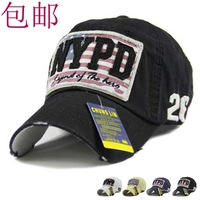 Mix Order Retail-B020 NYPD High Quality Cotton nonwrinkle men and women worn Style fashion Sports hat/Baseball cap free shipping
