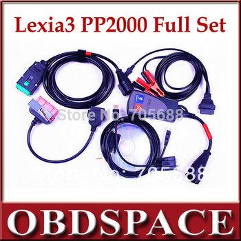 2015 neueste lexia 3 pp2000 diagnosetool v48 mit PSA 30-pin-kabel diagbox 7,62