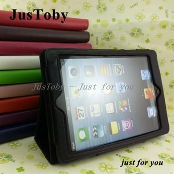 Hot Sale PU Leather Case For iPad Mini 7.9,Flip Litchi PU Leather Stand Case For iPad Mini 7.9 inch,DHL Freeship