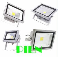 Outdoor flood light 50W 30W 20W 10W led refletor focos spotlight projecteur 12V 110V 240V White CE&ROHS by DHL 10pcs