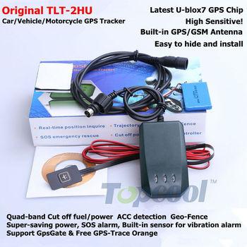 TLT-2H Motorcycle GPS Tracker U-blox7 GPS chip Sensitive! Car GPS tracker 4band built-in antenna TLT 2H  car GPS tracking system