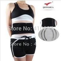 QH-885  Taping Waist Shaper Thin Slimming Belt Magic Waist Massage Belt Burn Calories Contraction Abdomen Belt with spring