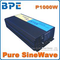 Free Shipping, 1000W Off Grid Tie Inverter DC12V, 24V, 48V Pure Sine Wave Inverter for Wind Solar System