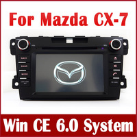 "7"" 2-Din Car DVD Player GPS Navigation for Mazda CX-7 CX7 2007-2013 with Radio TV BT USB SD CD AUX 3G Audio Video Tape Recorder"