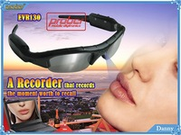 video recorder Real HD 720P Camera+170 degrees wide Angle + 5.0 Mega pixel Sunglasses DVR Eyewear hidden camera New H.264