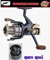 Most popular fishing reels , baitrunner reels,carp reels CMSW6000 9+1BB+ spare spool