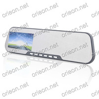 "Free shipping 1pc/lot new 2.7"" Car Rear View Mirror Monitor Driving Video Recorder with adjusted Lens,Car black box  (OE270MR)"