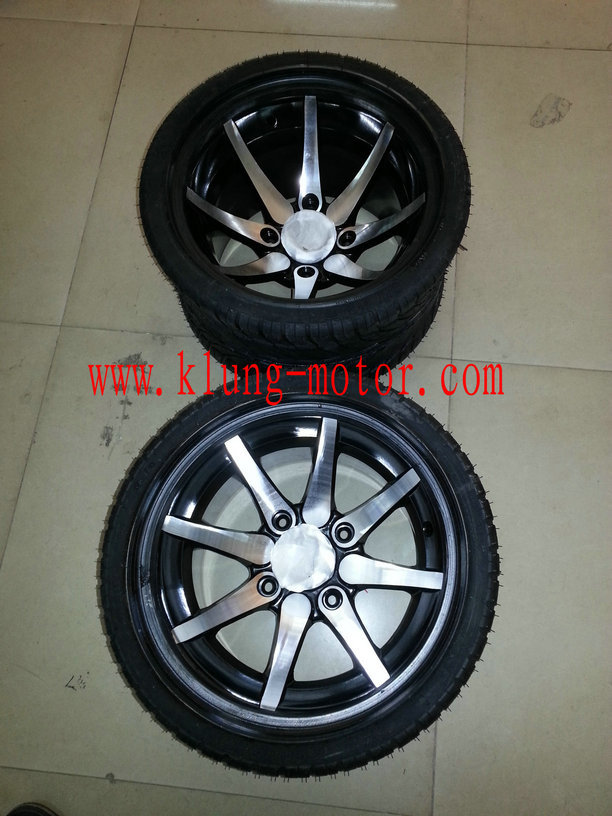 235 30R12 tire and rim for on road kart , FSAE,buggy ,go kart ,offroad buggy ,dune buggy(China (Mainland))