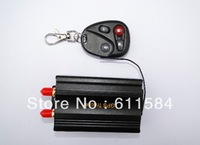 DHL EMS shipping 10pcs/lot tk103B Car GPS tracker Remote Control with original box Car Alarm PC GPS tracking system Google map