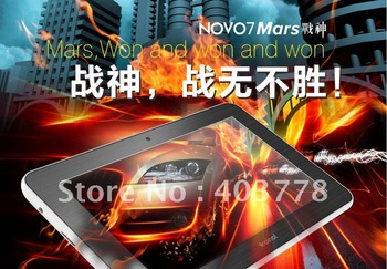 New Arrival Ainol Novo 7 Mars  same products better price android 4.0 tablet pc Cortex A9 1GB DDR3 Camera 8GB HD Screen 1024x600