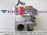 RHB5 VI58 VE130047 8944739540 oil cooled TURBINE TURBO Turbocharger Fit For Isuzu Trooper PIAZZA 4JB1TC Diesel 2.8L 1988-1991