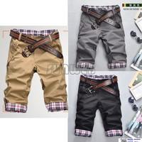2012 Hot Sale,Mens Leisure Short Pants Casual Pants 3 color men's shorts Size:M-XXLFree Shipping 5114