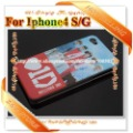 20pcs/lot Matte Plastic Phone Covers One Direction case for iphone 4 4S Freeshipping