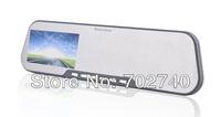 New 2013 Full HD 1920x1080P Rear View Mirror IR Night Vision Car Camera Car DVR Video camera Free shipping