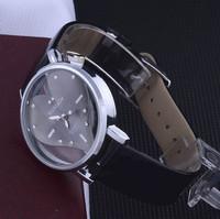 2014 New Fashion Exquisite Peach Heart Design Leather Wristband Watch For Women Lady Girls Watch Women Luxury Brand Atmos Clock