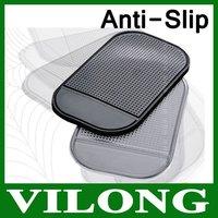 2pcs/lot Wholesale Powerful Silica Magic Sticky Pad Anti-Slip Pad Non Slip Mat for Phone PDA mp3 mp4 Car 3 colors RT0104