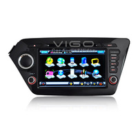 Car Stereo GPS Navigation for Kia K2 RIO Radio RDS DVD Player Multimedia Headunit Sat Nav Autoradio Bluetooth A2DP iPod USB SD