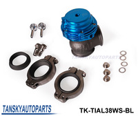 Tansky - TIAL Wastegate/Waste 38MM (Default color is Blue) TK-TIAL38WS-BL High Quality ( about 14 PSI)