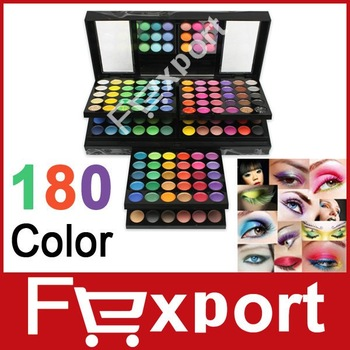 New 180 Color Eye Shadow Cosmetics Make Up  Makeup Eyeshadow  Palette Set 180A