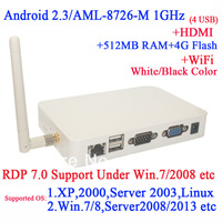 Android 2.3 thin client N680W with WiFi RDP 7.0 mlogic AML-8726-M 1GHz Samsung 512mb RAM 4GB TF Card 1080P 1980*1080 1440*900