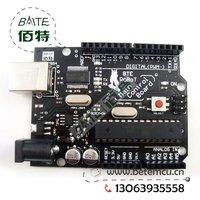 Free shipping BTE ROBOT Main Control Board Compatible with  duemilanove 2009  ATMEGA328  no USB cable