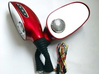 Free shipping(2 sets)+Red prince MP3 motorcycle rearview mirror