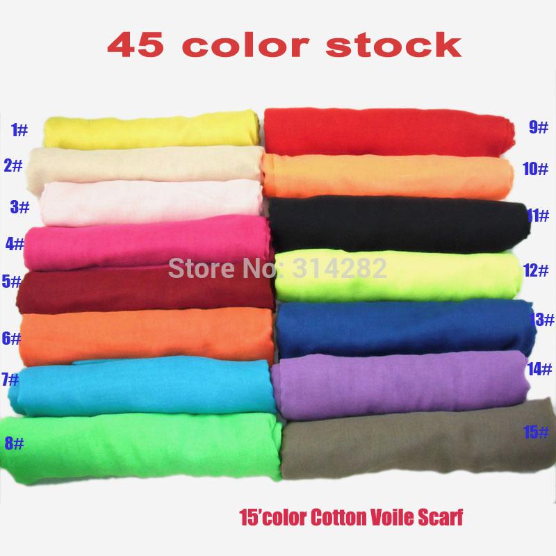 2013 NEW plain pure Color womens 100% viscose Scarf /Shawl/hijab/muslim long wrap popular 180*100cm 10pcs/lot(China (Mainland))
