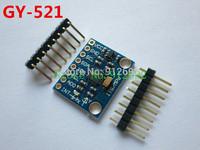 Free Shipping 10pcs/lot GY-521  MPU-6050 Module MPU6050  3 Axis analog gyro sensors+ 3 Axis Accelerometer Module