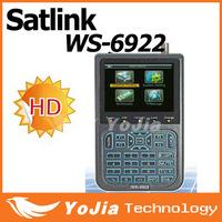 Original Satlink WS-6922 HD Satellite Finder Meter Satlink 6922 HD DVB-S finder ws6922 meter 6922 finder free shipping