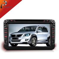 Universal Autoradio Headrest 2Din GPS Car Mp3 DVD Player Styling For VW Passat Golf 5  6 Tiguan,W/ Camera+Bluetooth+Radio+Canbus