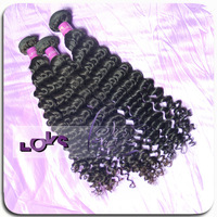 queen hair virgin malaysian deep curly human beautymax weft hair on sale