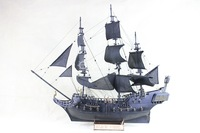 hot sales ! 80CM The Black Pearl DIY model kit wooden ship model