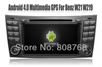 Android 4.0 Auto PC Car DVD Player for Mercedes Benz E Class W211 E200,E220,E240,E270,E280 wtih GPS Navigation Radio TV 3G WIFI