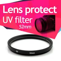 52mm UV Filter Lens Filter Hight Quality for Nikon D3100 D5100 D3000 D5000 kit Free Shipping