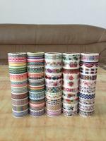 1459  New arrive Free shipping Lovely self-adhesive mt Masking Tape, decorative Tape DIY Paper Tape 268pcs/lot