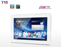 "T10 Built-in 3G 10.1"" IPS Screen 1280*800 Pixels Tablet PC Exynos4412 Quad Core Dual Cameras GPS Bluetooth HDMI 2GB RAM 16GB ROM"