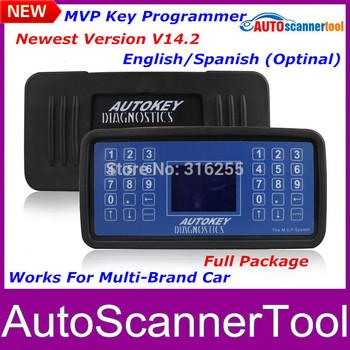 Newly Super Mvp Key Programmer V14.2 English Spanish Professional Universal Auto Key Diagnostic Tool