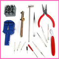 Singapore Post Free Shipping 16 Pieces/Lot DIY Watch Repair Kit Set /Wrist Strap Adjust Pin Tool Kit Back Remover Fix