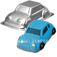 aluminum alloy cake moulds car shape cake decorating tools cake pan NO.:ME16