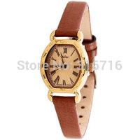 Women Watches Original Brand JULIUS Fashion Luxury Quartz Casual Watch,Romaji Style Small Dial ,Leather Strap Watches JA-544
