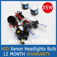 35w AUTO HID XENON BULBS Xenon Car Lamps Headlights Fog Light 2 Pcs  H1 H3 H7 H11 H8 H9 HB3 HB4 9005 9006
