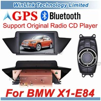 2012 New Car GPS Navigation For BMW X1 E84 With MP5 Video Bluetooth Phone Free Map,Support Original Radio CD Player