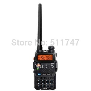 free shipping authorized Baofeng UV-5R dual band UHF&VHF transceiver FM radio  walkie talkie with Li-ion battery&free earphone