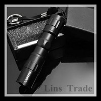 Free shipping New mini LED flashlight waterproof small light belt key chain lamp #8192