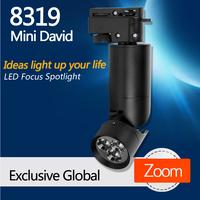 8319 Mini David,LED  Dimmable 110V track spot light,LED spotlight,LED focus spotlight,Museum lighting,Art Gallery